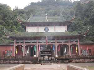 Mount Qiyun - A Taoist temple on the mountain