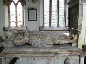 Wolryche baronets - Image: Quatt Francis and Margaret Wolryche tomb 01