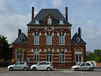 Quittebeuf (Eure, Fr) mairie.JPG