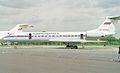 RA-65760 Tupolev Tu-134AK (cn 62187) Aeroflot, RIAT 1993. (7101019403).jpg