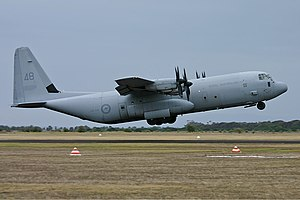 Lockheed Martin C-130J Super Hercules - RAAF C-130J-30 at Point Cook, 2006