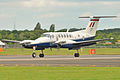 RAF King Air B200 Farnborough Airshow 2012.jpg