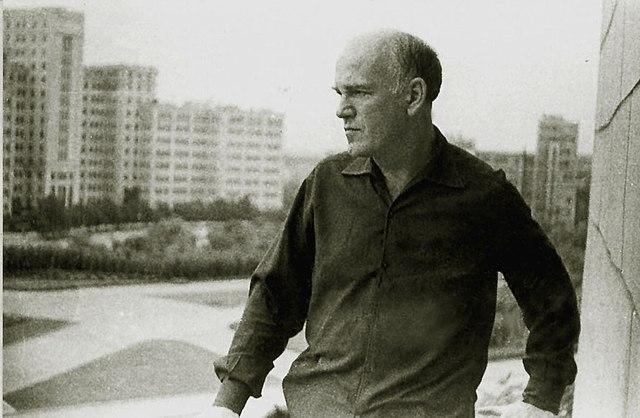 С.Т.Рихтер в Харькове (1966 год, фото Ю. Щербинина)