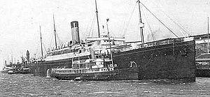 SS Cymric - Image: RMS Cymric