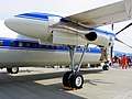 ROCAF Fokker 50 5003 Right Wing Main Engine with Landing Gears 20110813.jpg