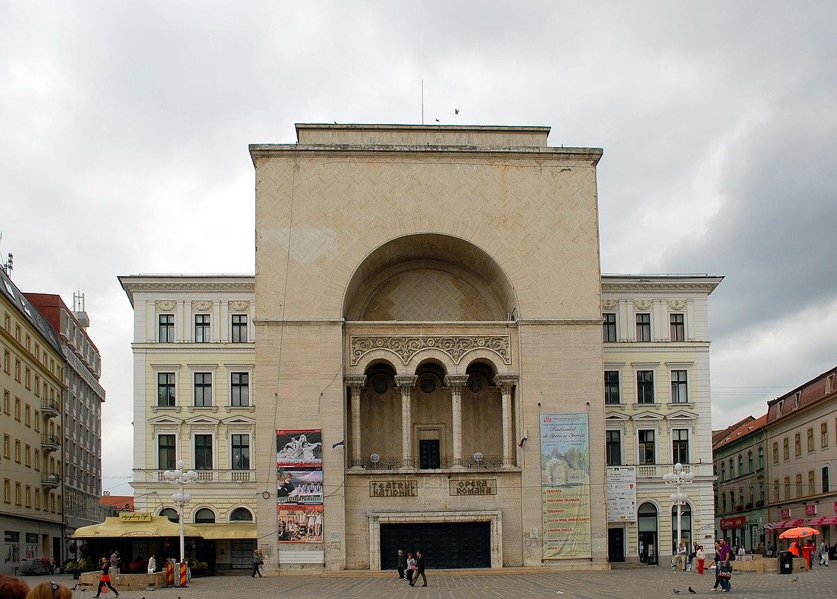 Romanian National Opera Timișoara Wikipedia