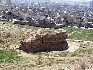 Rab'-e Rashidi - Ruins of Rab'-e Rashidi