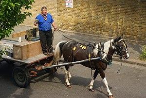 Rag-and-bone man - A rag-and-bone man in Croydon, London
