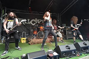 Nuclear (band) - Nuclear at Rage Against Racism 2017 in Duisburg