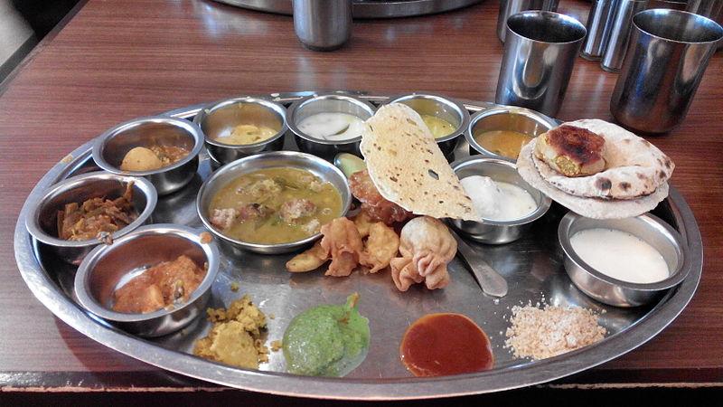 File:Rajasthani Thali from The Rajdhani Restaurant.jpg