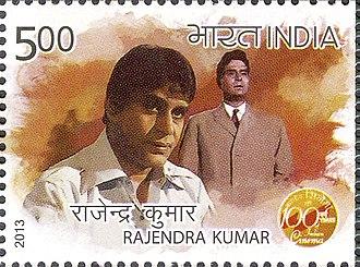 Rajendra Kumar - Kumar on a 2013 stamp of India