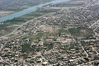 Ramadi - Image: Ramadi Aerial Picture April 2008