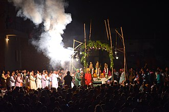Ramlila - This image is taken during 2018 World Famous Ramnagar Ramlila