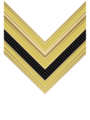 Rank insignia of sergente of the Italian Army (1940).png