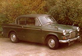 Metallic Green Sunbeam Rapier Series V 1966