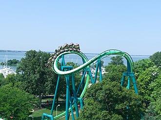 Bolliger & Mabillard - Raptor's cobra roll, a first for inverted roller coasters