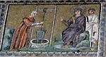 Ravenna, sant'apollinare nuovo, int., storie cristologiche, epoca di teodorico 04.1 samaritana al pozzo.jpg
