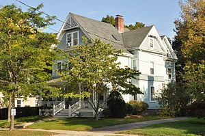 Francis Brooks House - Image: Reading MA Francis Brooks House
