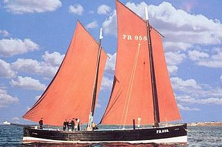 Fifie Sailing Boat