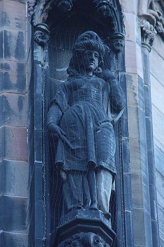 George Clark Stanton - Rebecca by Clark Stanton, Scott Monument, Edinburgh