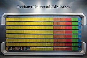 Reclam - Complete editions of Reclams Universal-Bibliothek (2009)