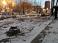 Reconstruction of Gorky street in Perm at winter in November 2014.jpg