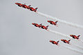 Red Arrows display at Portsmouth in July 2008 13.jpg