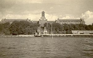 Reichsmarine - The Naval Academy Mürwik in 1929
