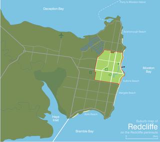 Redcliffe, Queensland Suburb of Moreton Bay Region, Queensland, Australia