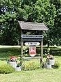 Redefin Gemeindezentrum Schild 2012-07-25 083.JPG
