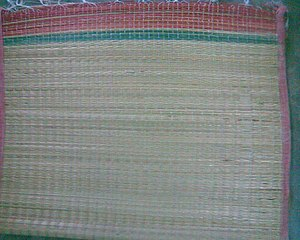 Reed mat (craft) - Reed mat it is Indian economical and healthy bed