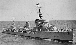Regele Ferdinand-class destroyer - Image: Regele Ferdinand 1935