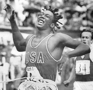 Reggie Jones (sprinter) - Jones in 1974
