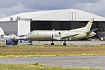 Regional Express Airlines (VH-KDQ) Saab 340B stripped down for paint being towed at Wagga Wagga Airport.jpg
