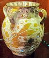 Regione valenciana o catalogna, vaso a lustro metallico, 1600-35 ca..JPG