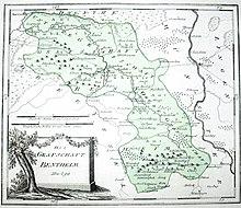 Die grafschaft bentheim um 1794 95 von franz johann joseph von reilly