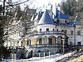 Rekonštrukcia Kuneradského zámku-deň pred požiarom strechy - panoramio.jpg
