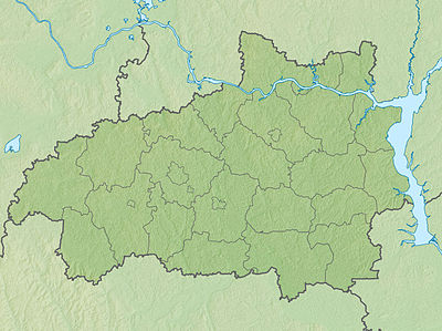 Location map Ivanovo Oblast