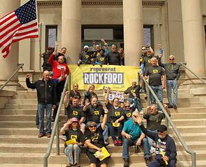 Represent.Us - Represent Rockford, a volunteer-led Represent.Us chapter based in Rockford, IL