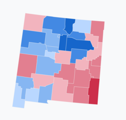 Results of the 2018 Senate election in New Mexico.png