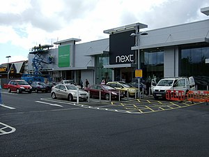 English: Retail therapy at Withybush Out of to...
