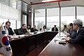 Reunión con el Vicepresidente de Relaciones Internacionales de Hankuk University of Foreign Studies (9083448117).jpg