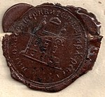 Reval 1855-02-09 church letter wax seal (cropped).jpg