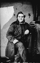 Revd Evan Herber Evans (1836-96) (1872)