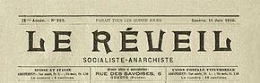 El Renacimiento socialista-anarquista, 11 de junio de 1910.