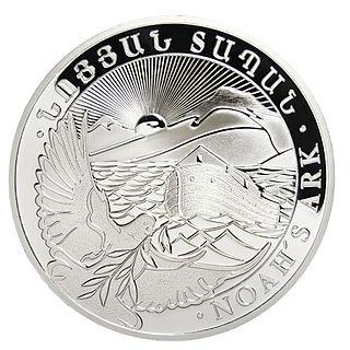 Noahs Ark silver coins