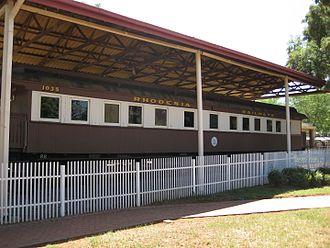 Botswana Railways - Image: Rhodesia Railcar