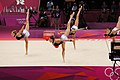 Rhythmic gymnastics at the 2012 Summer Olympics (7915582906).jpg