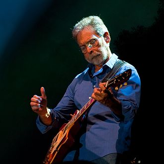 Richard Bennett (guitarist) - Performing on tour with Mark Knopfler  Zwolle, The Netherlands, 2013
