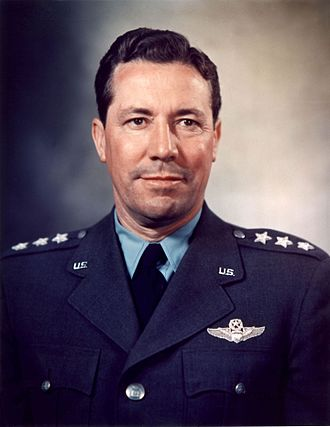 Hispanics in the United States Air Force - Image: Richard Quesada color photo portrait head and shoulders